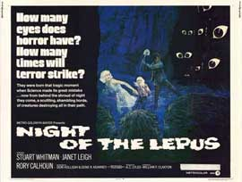 Night of the Lepus - 11 x 14 Movie Poster - Style A