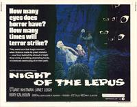 Night of the Lepus - 22 x 28 Movie Poster - Half Sheet Style A