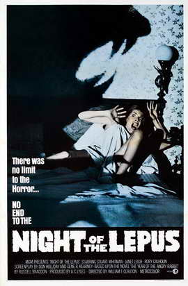 Night of the Lepus - 11 x 17 Movie Poster - Style B