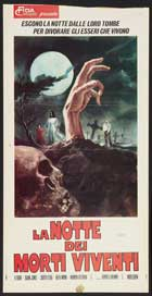 Night of the Living Dead - 13 x 28 Movie Poster - Italian Style A