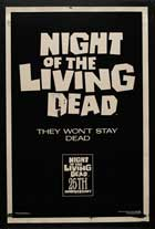 Night of the Living Dead - 27 x 40 Movie Poster - Style F