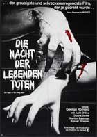 Night of the Living Dead - 27 x 40 Movie Poster - German Style B