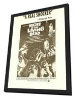 Night of the Living Dead - 11 x 17 Movie Poster - Style C - in Deluxe Wood Frame