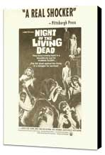Night of the Living Dead - 11 x 17 Movie Poster - Style C - Museum Wrapped Canvas
