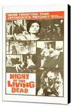 Night of the Living Dead - 11 x 17 Movie Poster - Style D - Museum Wrapped Canvas