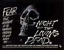 Night of the Living Dead - 11 x 14 Poster - Foreign - Style B