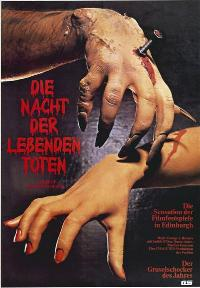 Night of the Living Dead - 27 x 40 Movie Poster - German Style A