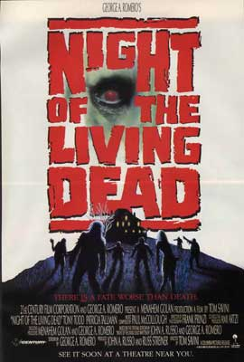 Night of the Living Dead - 27 x 40 Movie Poster - Style B