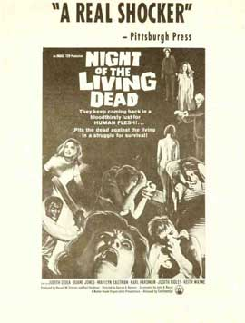 Night of the Living Dead - 27 x 40 Movie Poster - Style C
