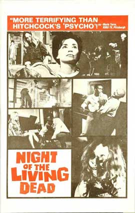 Night of the Living Dead - 27 x 40 Movie Poster - Style D