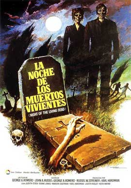 Night of the Living Dead - 11 x 17 Movie Poster - Spanish Style A
