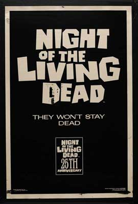 Night of the Living Dead - 11 x 17 Movie Poster - Style E