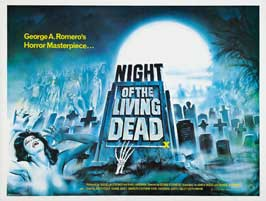 Night of the Living Dead - 30 x 40 Movie Poster UK - Style A