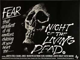 Night of the Living Dead - 30 x 40 Movie Poster UK - Style B