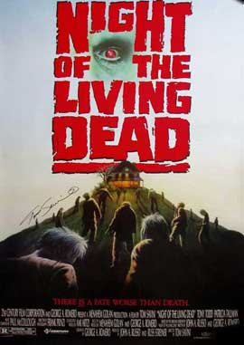 Night of the Living Dead - 11 x 17 Movie Poster - Style C