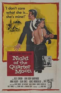 Night of the Quarter Moon - 11 x 17 Movie Poster - Style A