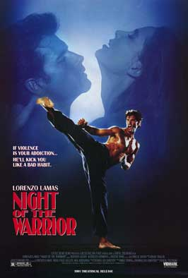 Night of the Warrior - 27 x 40 Movie Poster - Style A