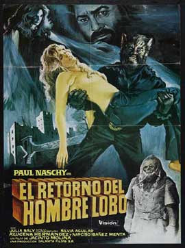 Night of the Werewolf - 11 x 17 Movie Poster - Spanish Style A
