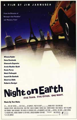Night on Earth - 11 x 17 Movie Poster - Style A
