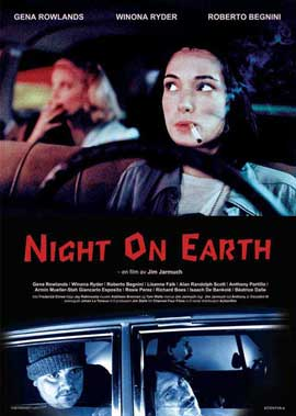 Night on Earth - 11 x 17 Movie Poster - Swedish Style A