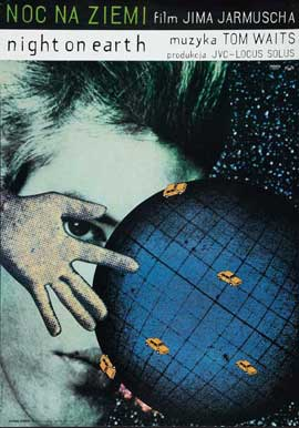 Night on Earth - 11 x 17 Movie Poster - Polish Style A