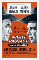 Night Passage - 11 x 17 Movie Poster - Style B