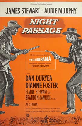 Night Passage - 27 x 40 Movie Poster - Style A