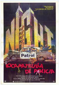 Night Patrol - 11 x 17 Movie Poster - Spanish Style A