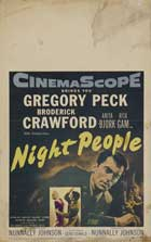 Night People - 27 x 40 Movie Poster - Style B