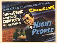 Night People - 27 x 40 Movie Poster - Style A