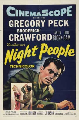 Night People - 11 x 17 Movie Poster - Style A