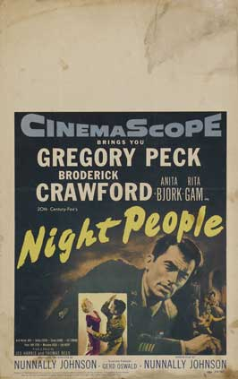 Night People - 11 x 17 Movie Poster - Style B