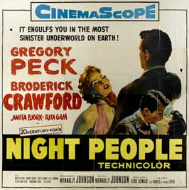Night People - 30 x 30 Movie Poster - Style A