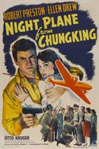 Night Plane from Chungking - 11 x 17 Movie Poster - Style A