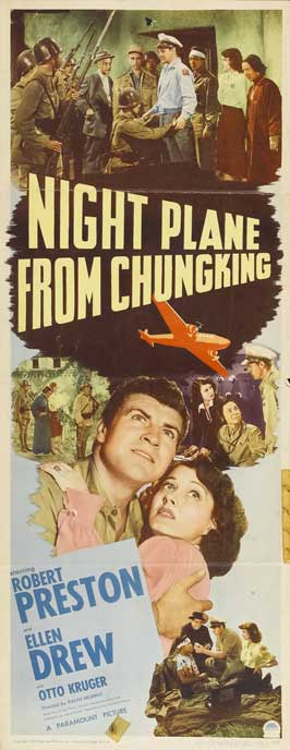 Night Plane from Chungking - 14 x 36 Movie Poster - Insert Style A