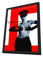 The Night Porter - 11 x 17 Movie Poster - Style C - in Deluxe Wood Frame