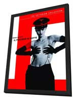 The Night Porter - 27 x 40 Movie Poster - Style B - in Deluxe Wood Frame