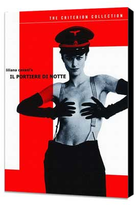 The Night Porter - 27 x 40 Movie Poster - Style B - Museum Wrapped Canvas