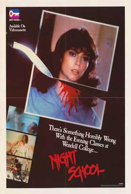 Night School - 11 x 17 Movie Poster - Style B