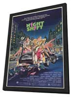 Night Shift - 11 x 17 Movie Poster - Style A - in Deluxe Wood Frame