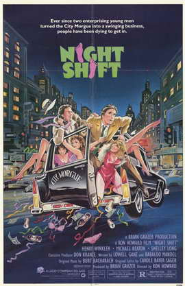 Night Shift - 11 x 17 Movie Poster - Style A