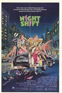 Night Shift - 43 x 62 Movie Poster - Bus Shelter Style A