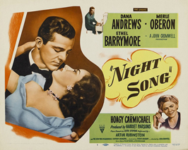 Night Song - 11 x 14 Movie Poster - Style A