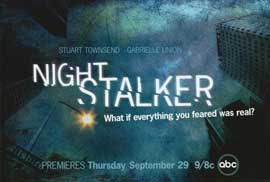 Night Stalker, The (TV) - 11 x 17 TV Poster - Style A