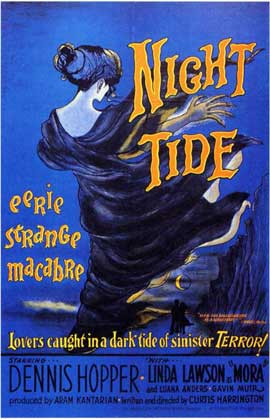 Night Tide - 11 x 17 Movie Poster - Style A