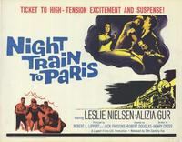 Night Train to Paris - 11 x 14 Movie Poster - Style A