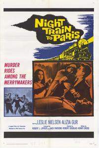 Night Train to Paris - 11 x 17 Movie Poster - Style A