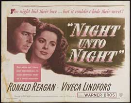 Night Unto Night - 11 x 14 Movie Poster - Style A