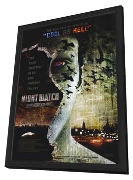 Night Watch - 11 x 17 Movie Poster - Style A - in Deluxe Wood Frame