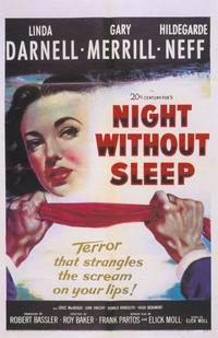 Night Without Sleep - 11 x 17 Movie Poster - Style A